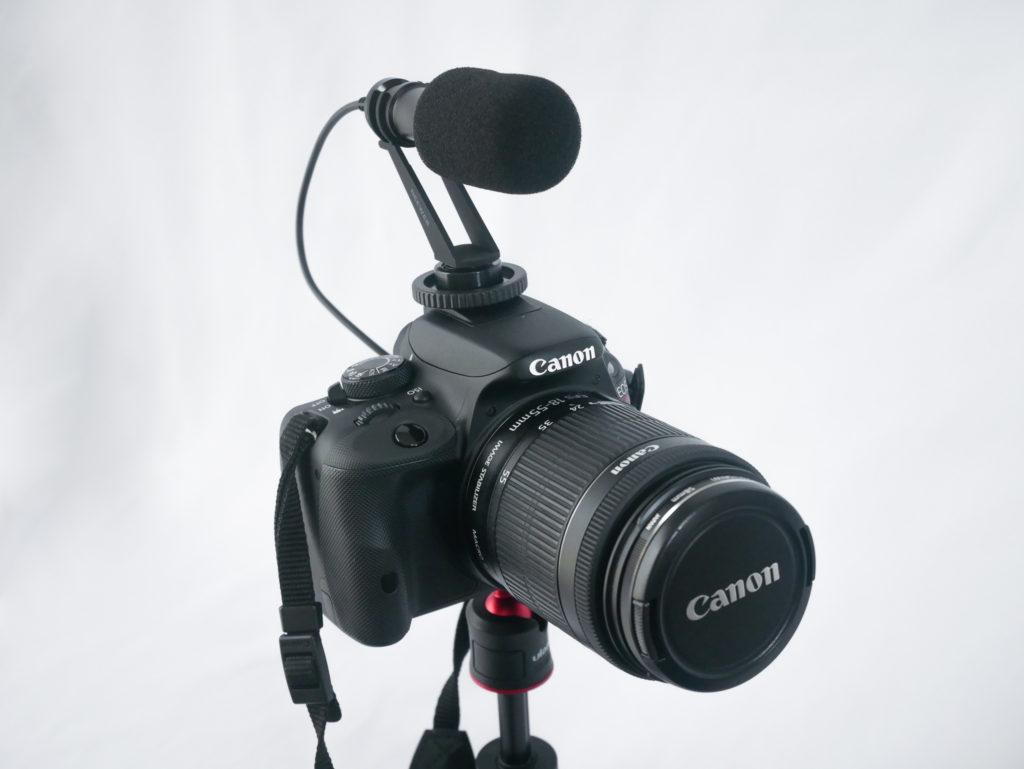 Neewer CM14カメラに装着